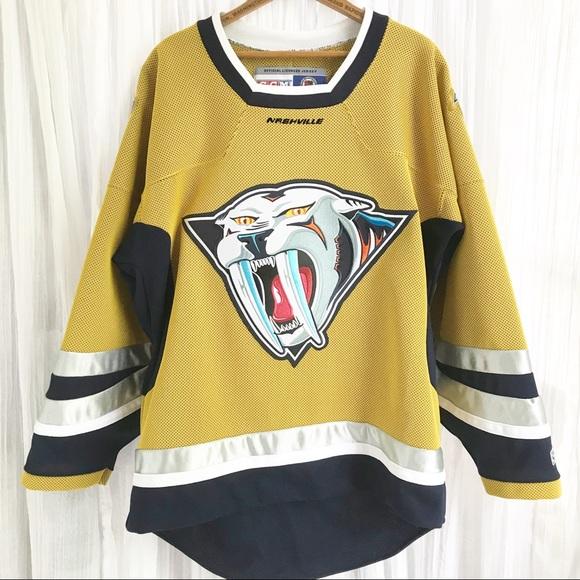 a88d82b362c CCM Shirts   Vintage Nashville Predators Hockey Jersey   Poshmark
